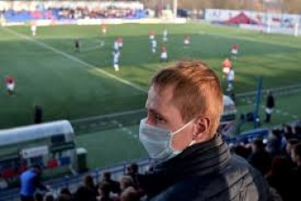 Football league continues in Belarus amid Corona crisis