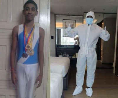 Gymnast Saumyasarthy Ganguly serves humanity as a microbiologist amid corona outbreak