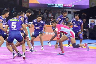 PKL 2019: Jaipur Pink Panthers Beat Haryana Steelers