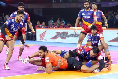 PKL 2019: UP Yoddha taste maiden win, beat U Mumba