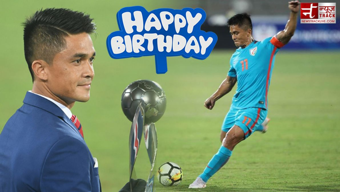 Birthday Special: Sunil Chhetri holds many records, one of  the veterans Indian footballer