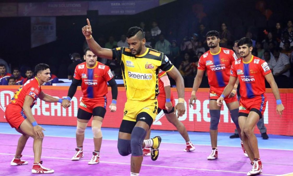 PKL 2019: UP Warrior and Telugu Titans play first tie of this season