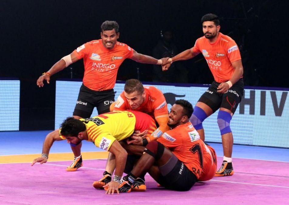 PKL 2019: U Mumba beat Gujarat Fortunegiants