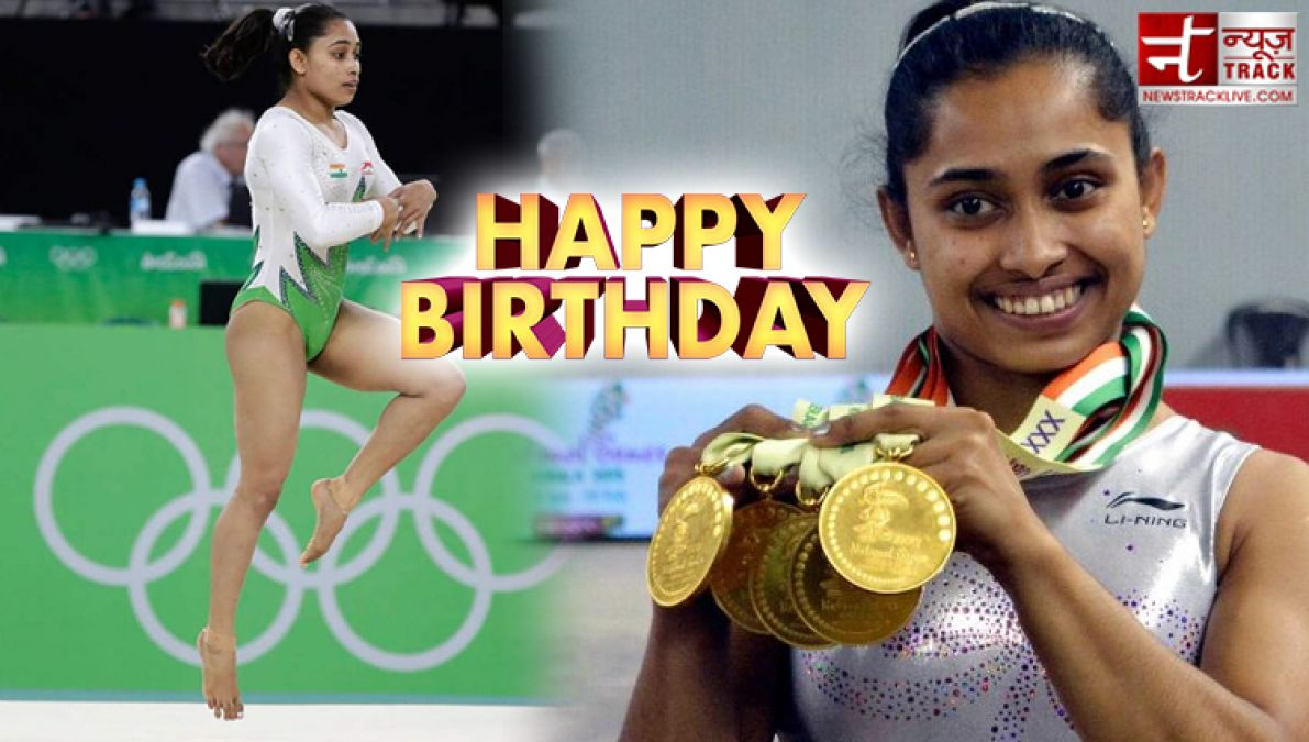 ओलंपिक में यह कारनामा करने वाली पहली भारतीय जिम्नास्ट है दीपा कर्माकर, कहते हैं गोल्डन गर्ल