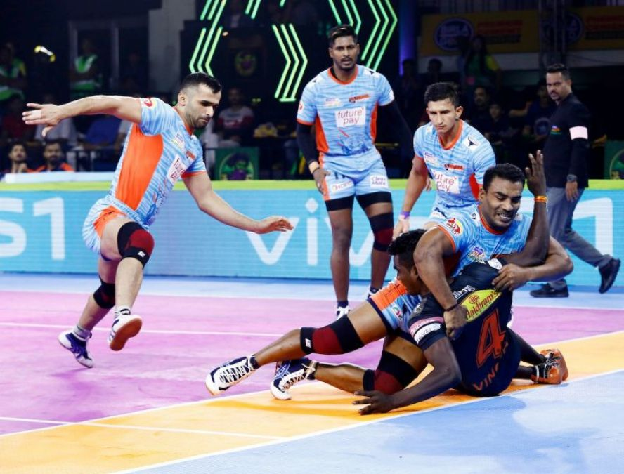 PKL 2019: Bengal Warriors defeated U Mumba