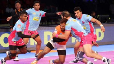 PKL- 5 जयपुर पिंक पेंथर्स की पहली जीत, पुणेरी पल्टन को मिली हार