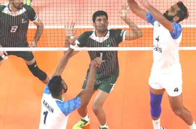 Under 23 Volleyball: India Spike Pakistan to reach final