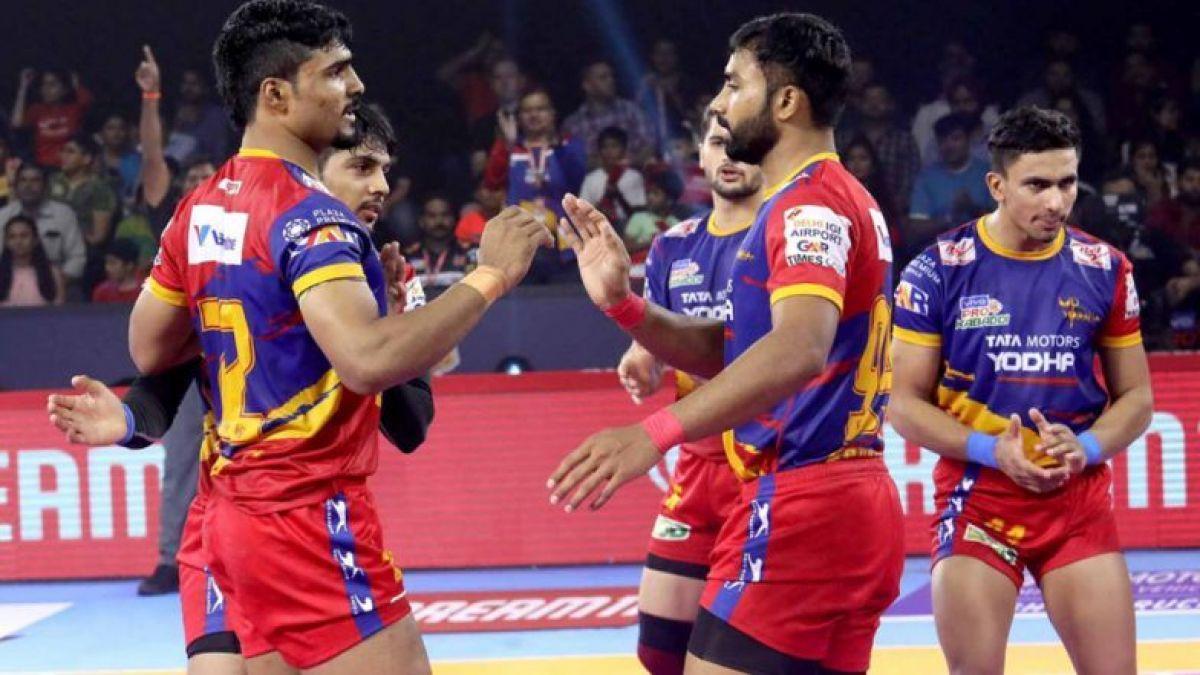 PKL 2019: UP Yoddha beat Bengaluru Bulls by close margin