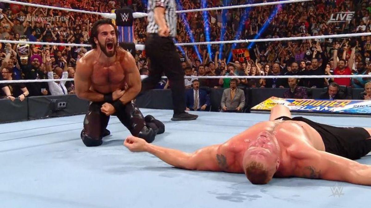 WWE SummerSlam 2019 - Sath Rawlins Wins WWE Universal Championship Title