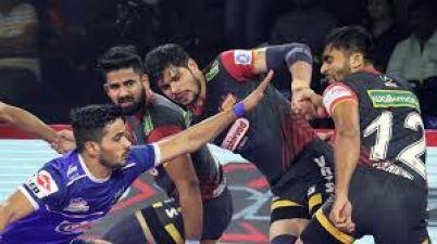 PKL 2019: Haryana Steelers beat Bengaluru Bulls