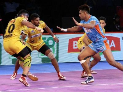 PKL 2019: Match tie between Bengal Warriors and Telugu Titans