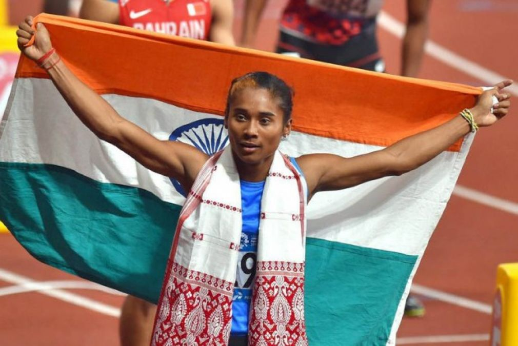 Due to this Hima Das will suffer problems in the Olympics.