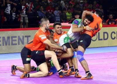 PKL 2019: U Mumba defeats Patna Pirates