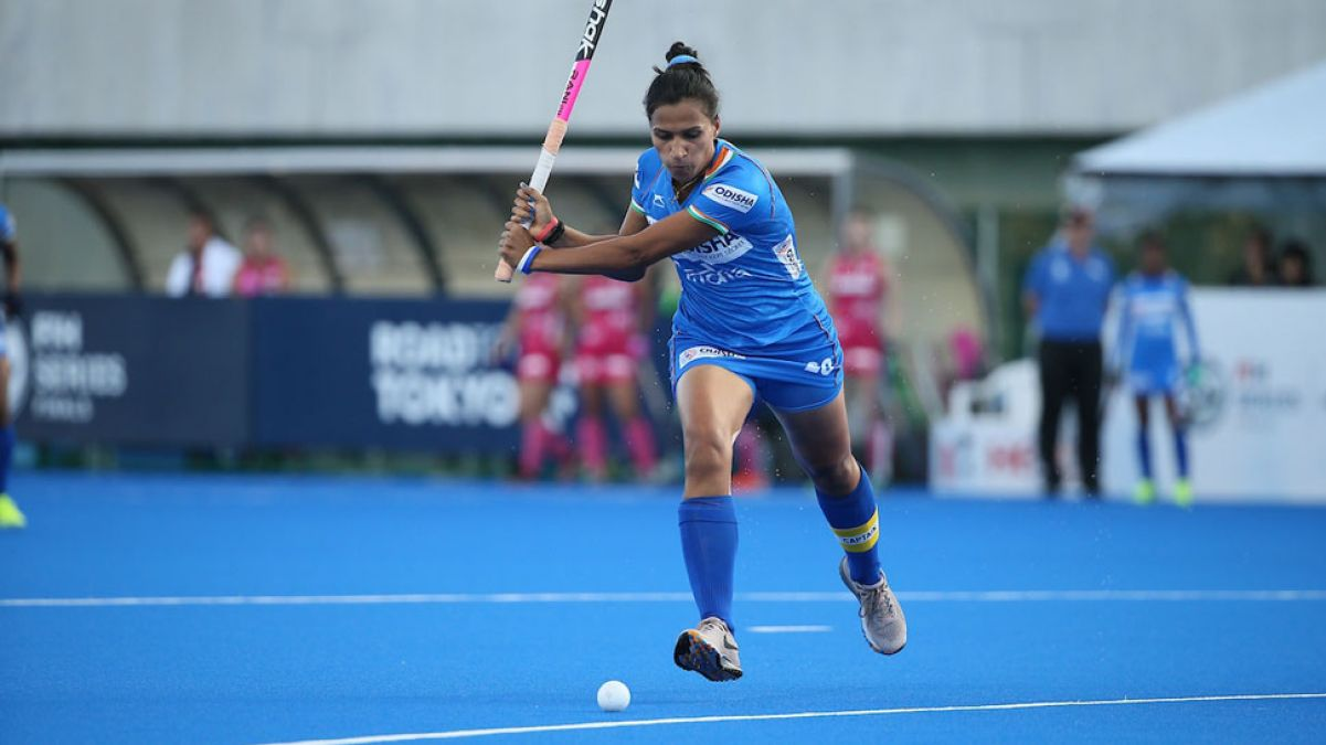 Olympic Event Test: Match draws between Women's Indian Team and Australia