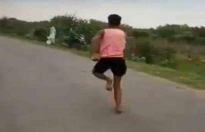 MP Sprinter Rameshwar Gurjar Wants to Break Usain Bolt's record