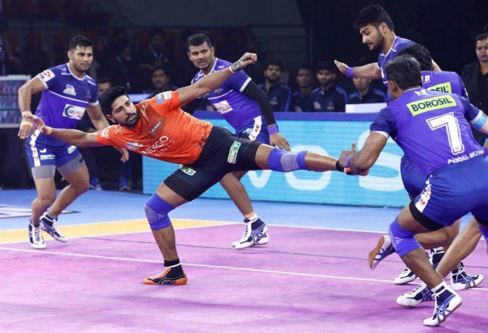 PKL 2019 : हरियाणा स्टीलर्स ने यू मुंबा को और जयपुर पिंक पैंथर्स ने यूपी योद्धा को हराया