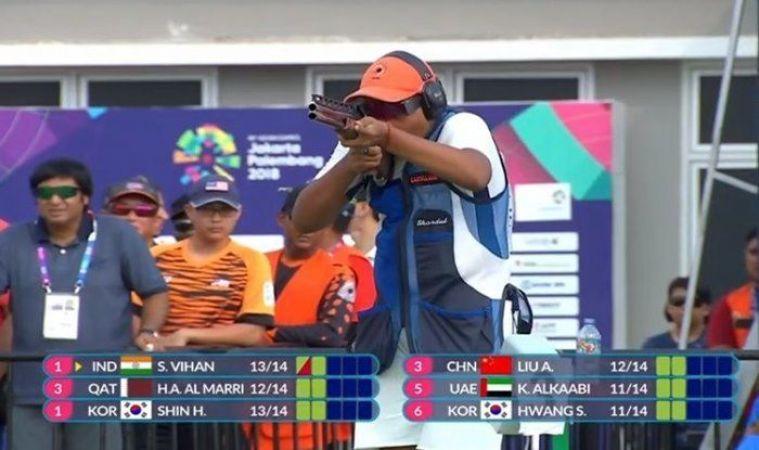 एशियन गेम्स 2018: भारत को शूटिंग में मिला एक और सिल्वर, 15 साल के शार्दुल ने किया कमाल