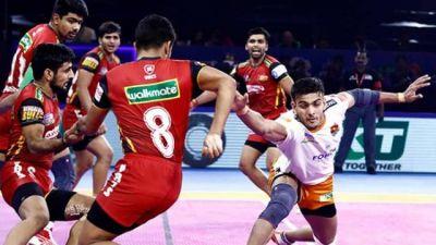 PKL 2019 : पुणेरी पल्टन ने बेंगलुरु बुल्स को हराया