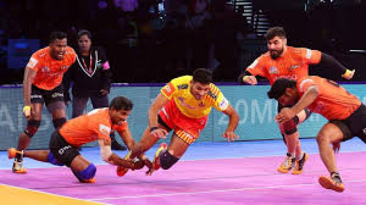 PKL 2019: Gujarat Fortune Giants and U Mumba register win in two separate matches!