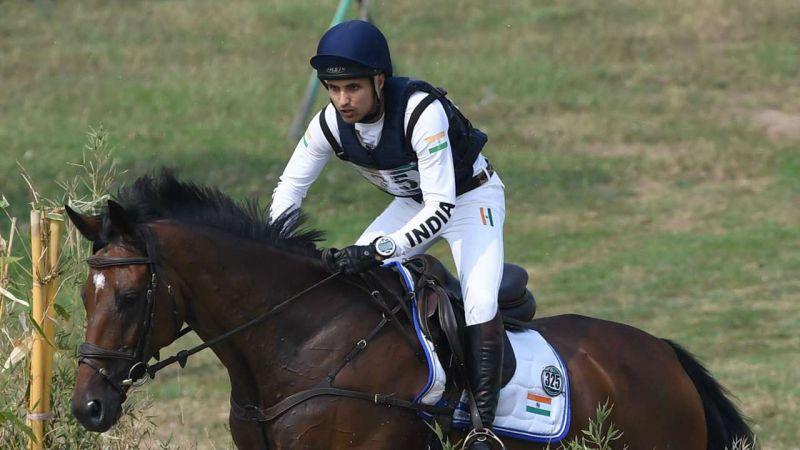 1982 के बाद भारत ने जीता घुड़सवारी में मैडल