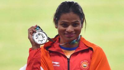 एशियन गेम्स 2018: 200 मीटर दौड़ में भारत को सिल्वर, दूती चंद का दूसरा रजत