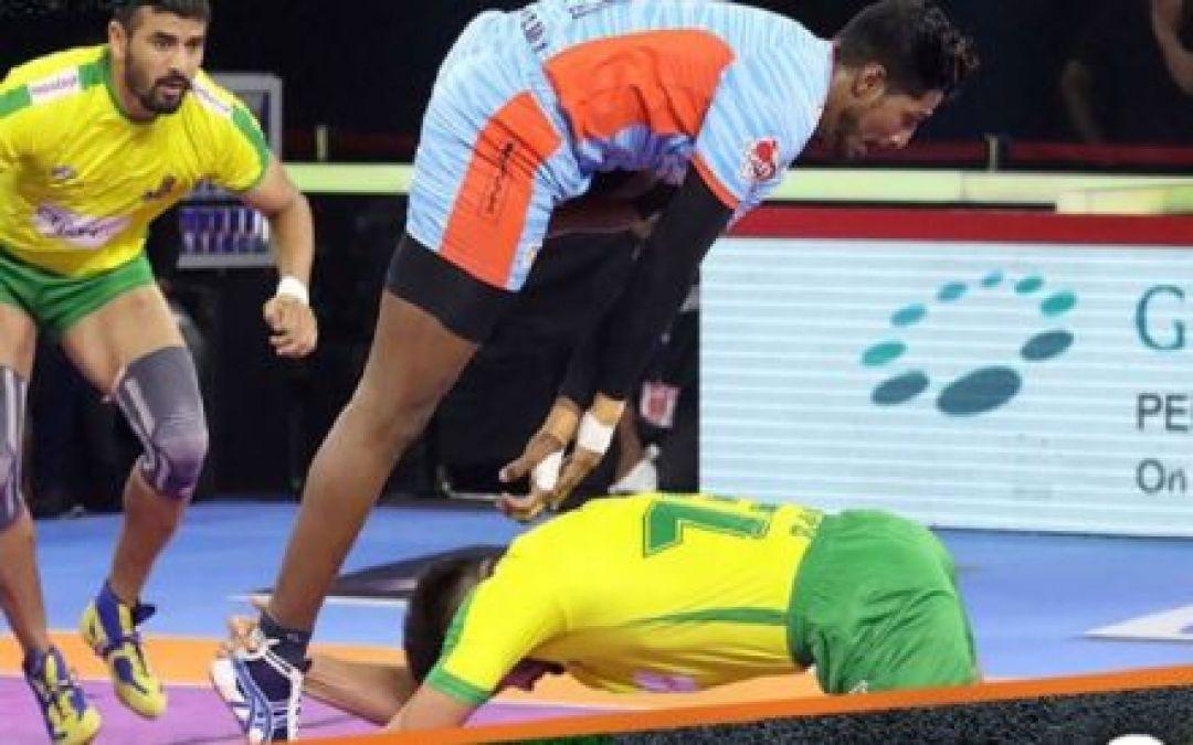 PKL 2019 :Bengal Warriors beat Tamil Thalaivas 35-26