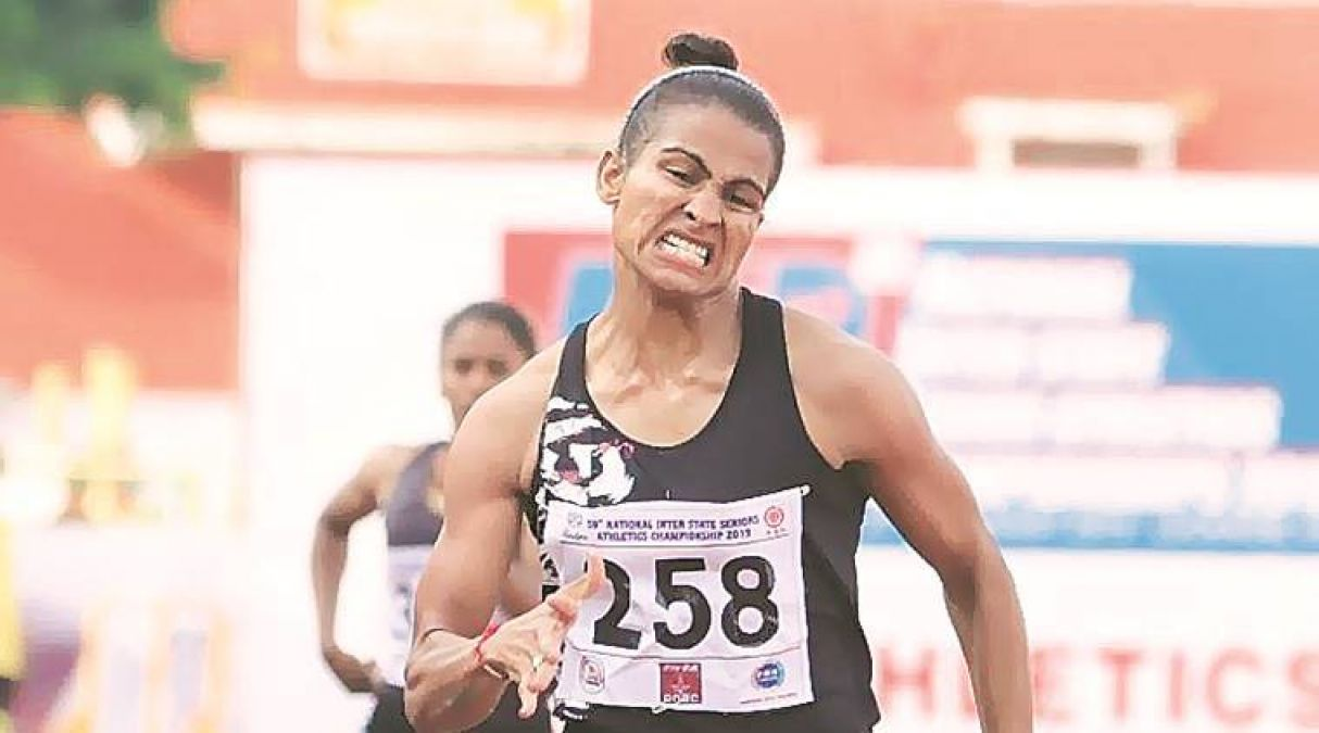 National Open Athletics: This woman player from Haryana won gold