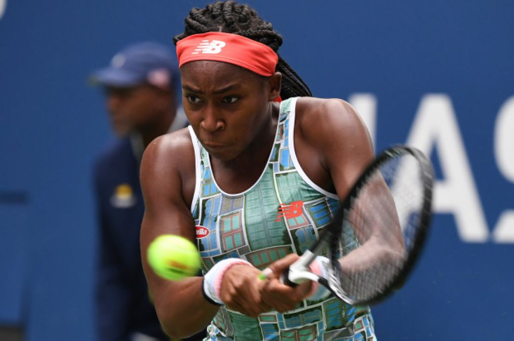Gauff gets U.S. Open showdown vs. Osaka; Townsend stuns Halep