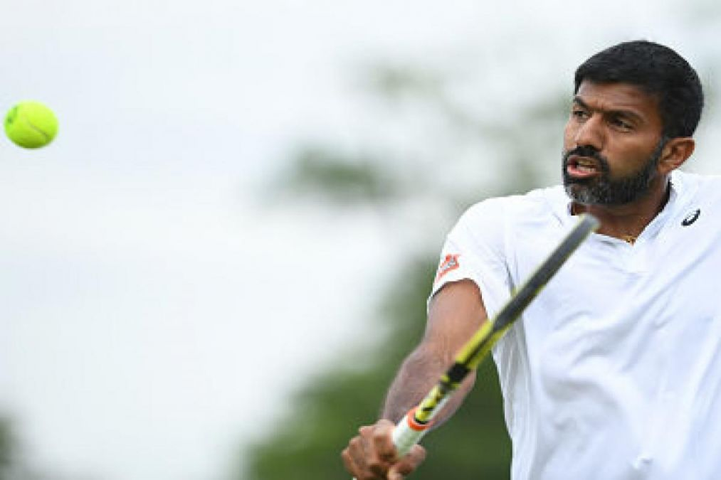 US Open 2019: Bopanna and his partner win the match in just 55 minutes, Leander Paes loses!