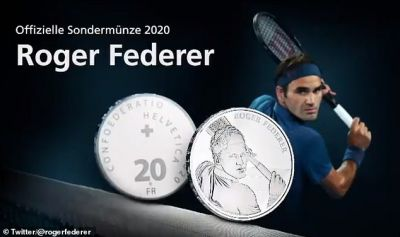 Swiss Government to honor this Tennis champion