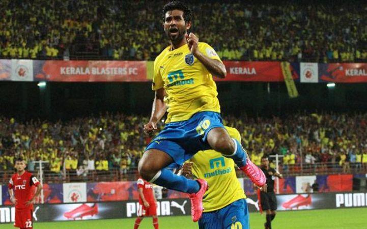 ISL- केरला ब्लास्टर्स का लगातार तीसरा मैच रहा ड्रॉ