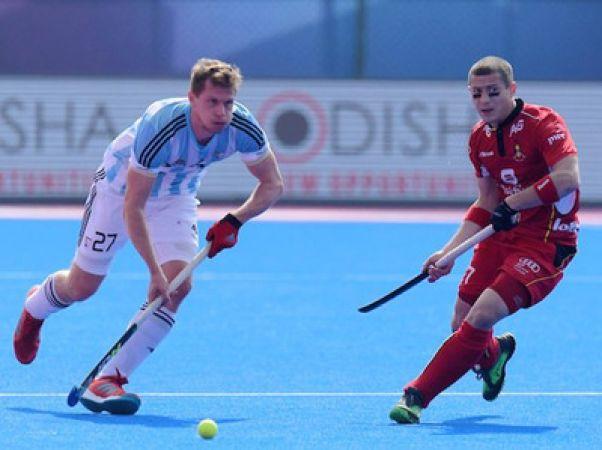 हॉकी विश्व कप- अर्जेंटीना और नीदरलैंड के बीच मुकाबला ड्रॉ
