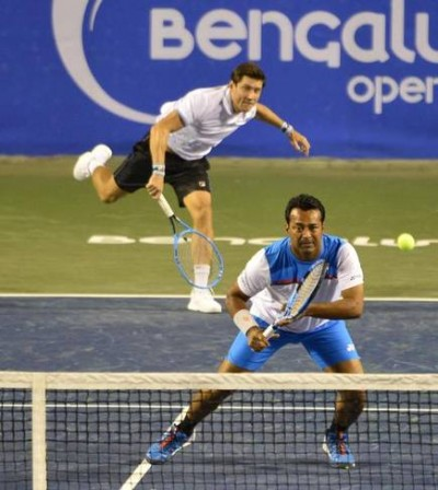 Bengaluru Open: Leander Paes and Matthew Abden perform brilliantly, securing place in finals