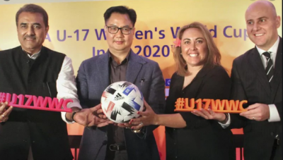 Football: FIFA U-17 Women's World Cup to be held for the first time in India