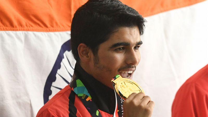 आईएसएसएफ वर्ल्ड कप में सौरभ चौधरी ने प्राप्त किया स्वर्ण पदक