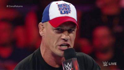 Wrestlemania 34 पर जॉन की प्रतिक्रिया
