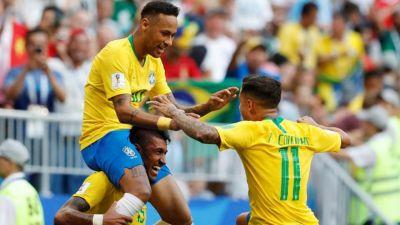 मैक्सिको को 2-0 से हराकर ब्राजील क्वार्टर फाइनल