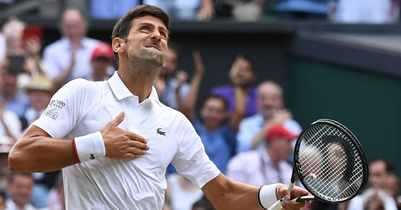 Wimbledon 2019: Djokovic wins title, loses to this player