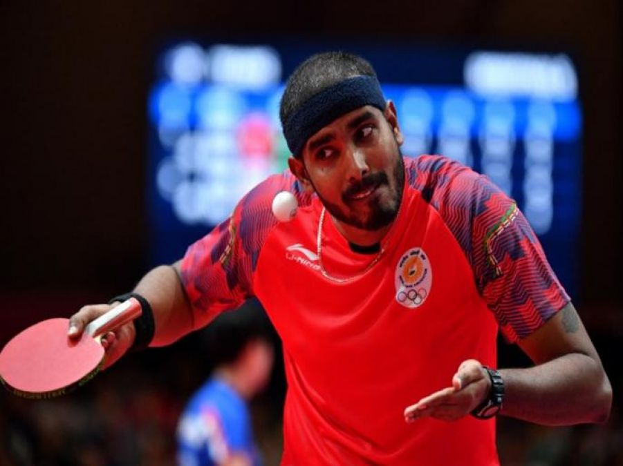 Commonwealth Table Tennis Championships: Sharat Kamal out of men's singles after defeat