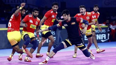 Pro Kabaddi League: Gujarat Fortune Giants beats BangaloreBulls with 42-24