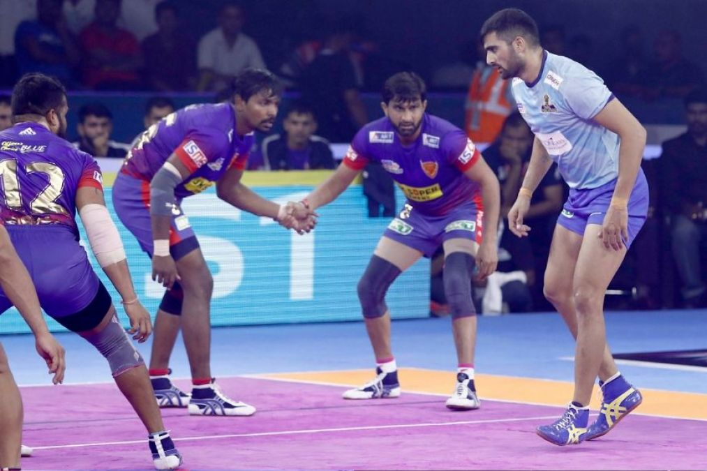 प्रो कबड्डी लीग में दिल्ली ने दर्ज की लगातार दूसरी जीत