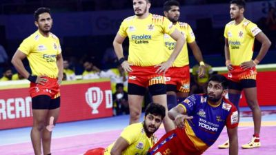 Gujarat Fortunegiants beat UP Yoddha 44-19 in PKL