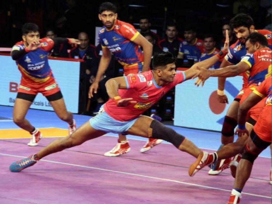 जयपुर पिंक पैंथर्स ने आखिरी वक्त में बंगाल को हराया
