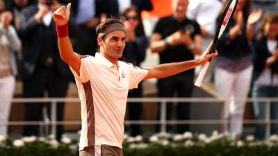 French Open: Roger Federer's victory in his 400th Grand Slam