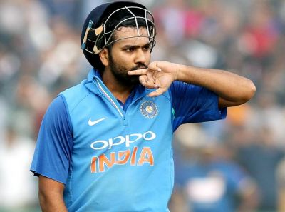 Rohit played a superb inning against Australia, made this record