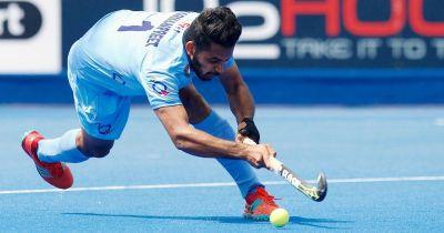 Harmanpreet Singh completes 100 international matches