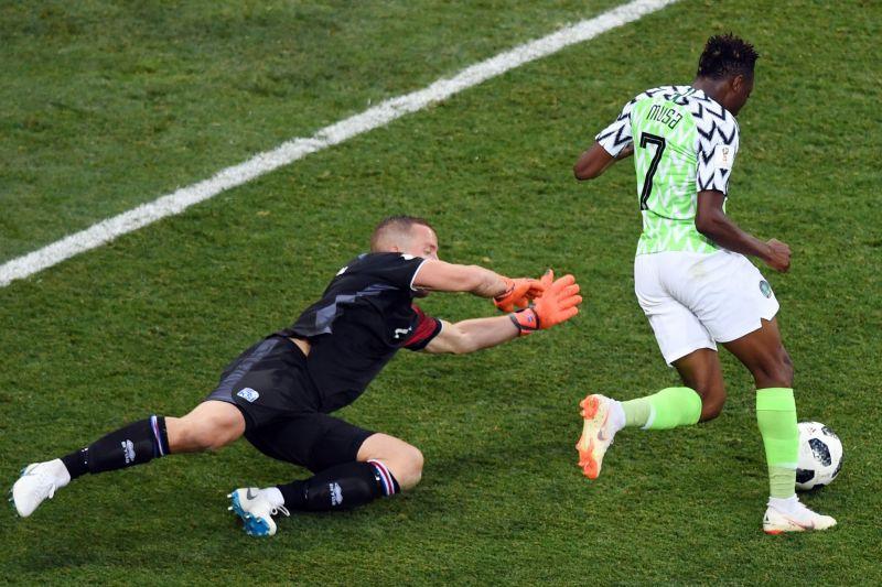 आइसलैंड पर नाइजीरिया की जीत से खतरे में अर्जेंटीना