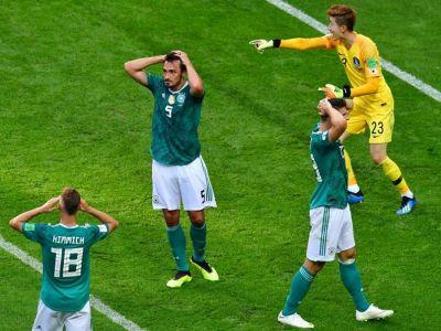 बदला फीफा का इतिहास, पूर्व चैम्पियन जर्मनी बाहर