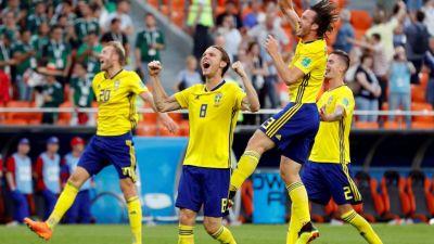 स्वीडन ने मेक्सिको को हराकर अंतिम 16 में जगह बनाई