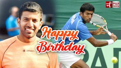 स्टार टेनिस खिलाड़ी रोहन बोपन्ना को जन्मदिन की ''हार्दिक बधाई''
